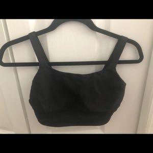 Lululemon size 6 black sports bra